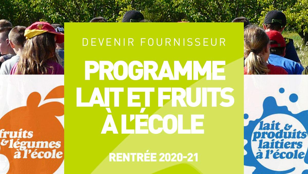 Devenir fournisseur du programme lait et fruits l - Chambre agriculture ille et vilaine ...