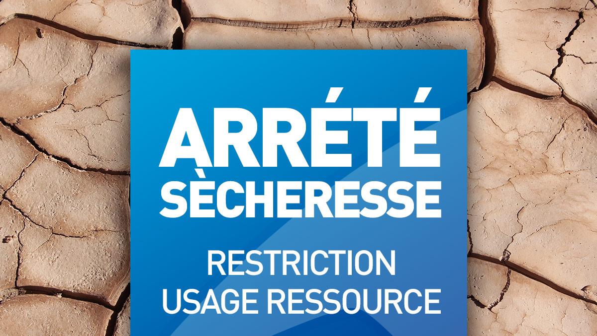 Nouvel arrêté sècheresse - avril 2019 - Chambre d ...