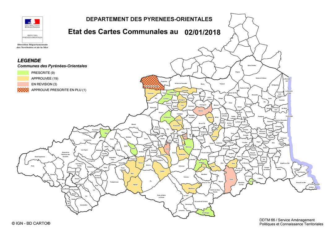 Carte Communale Chambre D Agriculture Pyrenees Orientales